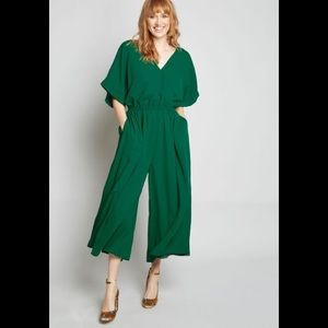 NWT Modcloth Arrive and Thrive wide leg jumpsuit